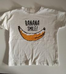 Zara majica s reverzibilnim šljokicama v. 128