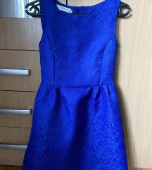 Plava kratka haljina