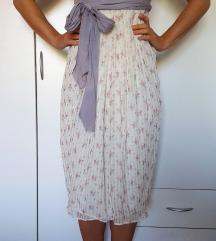 SNIŽENO_Mango exclusive svilena haljina