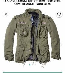 Brandit nova zimska muška jakna s etiketom XL
