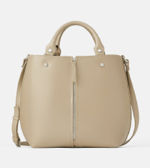 Novo! Zara kožna shopper torba (pt.uklj.)