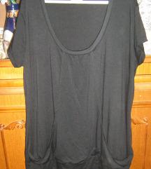 majica tunika crne boje veličina 50