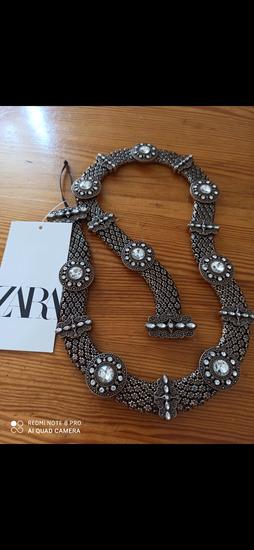Novi Zara remen sa strasom-za haljinu