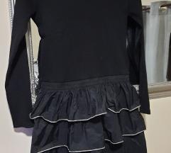 Zara crna haljina%