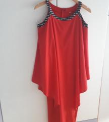 Svečana dvoslojna haljina XXL