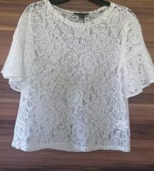 Primark prozirna čipkasta majica