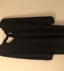 Nova Mango crna haljina xs