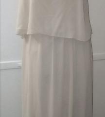Beige svečana haljina S/M