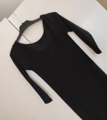 Sinsay crna uska haljina do koljena