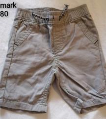 Kratke hlačice sive