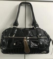 CHLOE kožna lak torba