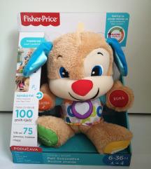 Fisher Price igračka Psić sveznalica (NOVO)