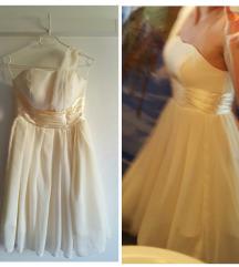 Svečana ivory haljina