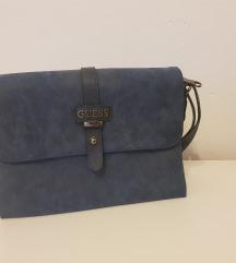 Guess plava torbica