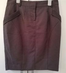 Orsay tamnosiva suknja sa džepovima