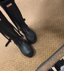 Hunter crne gumene čizme