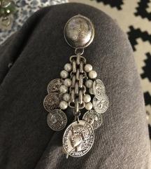 Naušnice sa medaljonima