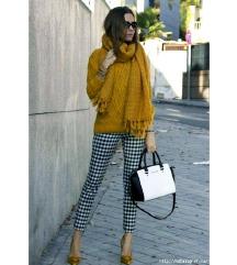*akcija* NOVI popularni senf žuti pulover