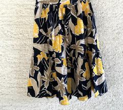 Zara cvjetna midi suknja