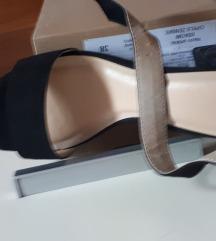 Sandale crne 37 Guliver NOVO
