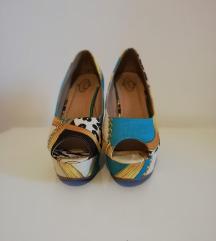 Šarene cipele s punom petom