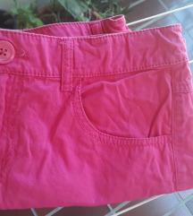 Kratka roza suknja