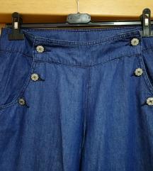 Traper hlače širokih nogavica