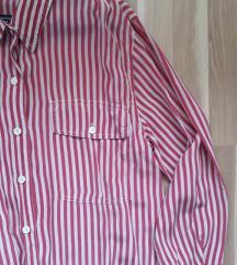 Crvena prugasta košulja