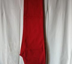 Crvene hlače traperice 42 ***NOVO