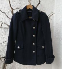 Tamnoplavi mornarski kaput