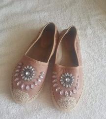 Roza slip on cipele s cirkonima 38