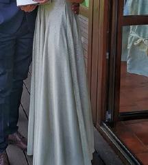 Asos Duga zlatna haljina