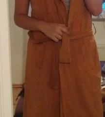 Smeđi kimono/mantil M/L
