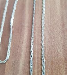 Lančić i narukvica srebro