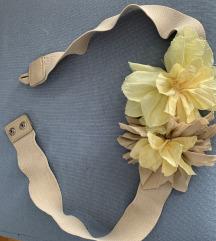 Cvjetni remen za haljinu