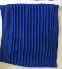 Plava mini suknja