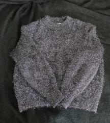 H&M čupavi pulover XS/S