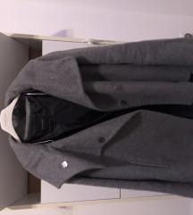 Zara sivi kaput M