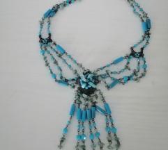 Tirkizna ogrlica
