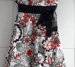 Cvjetna sarena haljina