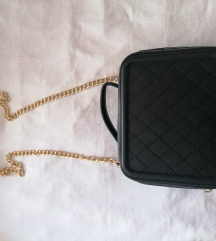 Crna kofer torbica