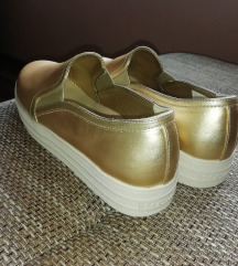 Skechers Slip on tenisice - Zlatne