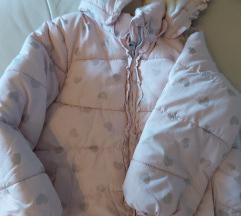 H&M zimska jakna za djevojcice