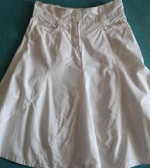36 38 bijela ljetna suknja kao nova