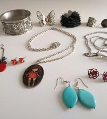 Nakit (ogrlice, prstenje, naušnice, narukvica)