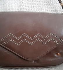 Vintage kožna torbica od najfinije kože