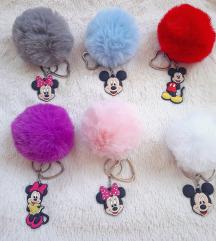 Mickey i Minnie privjesci