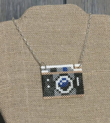 Ogrlica handmade fotoaparat