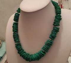 Ahat zelena ogrlica