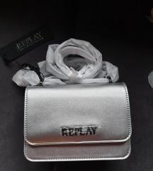 Replay srebrna torba - NOVA